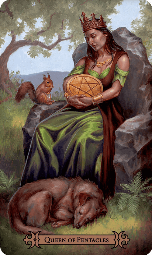 Queen of Pentacles Tarot Card Meaning