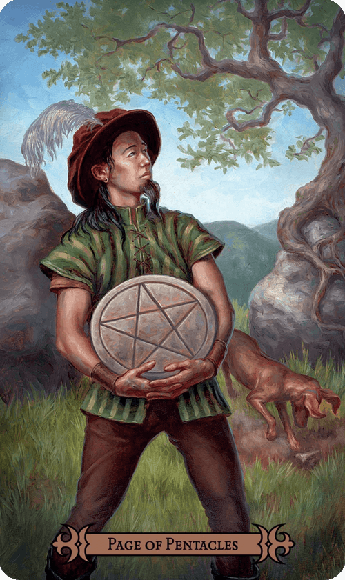 Page of Pentacles Tarot Card Meaning