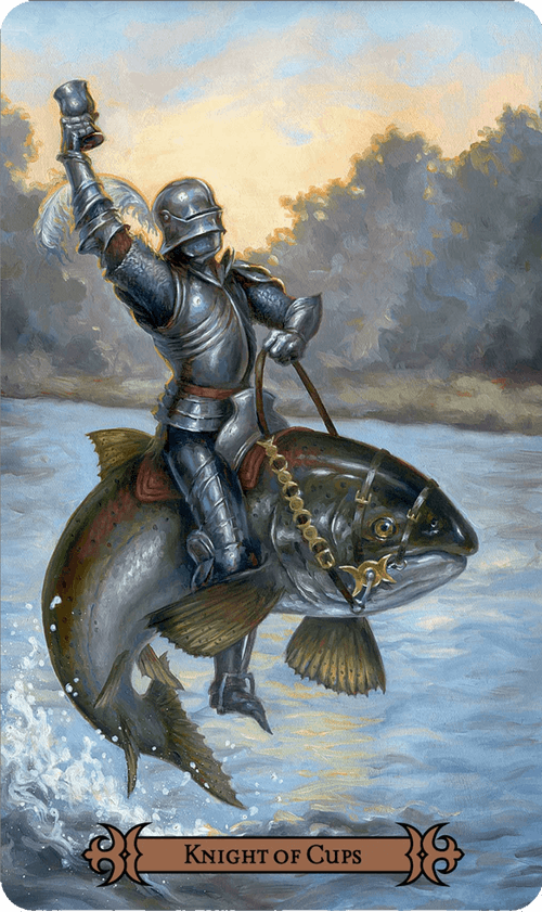 Knight of Cups Tarot Card Meaning