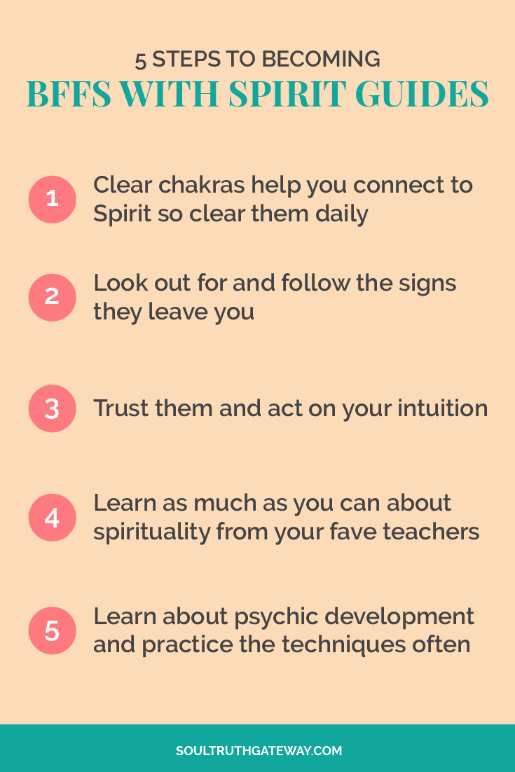 5 Steps To Becoming BFFs with Spirit Guides