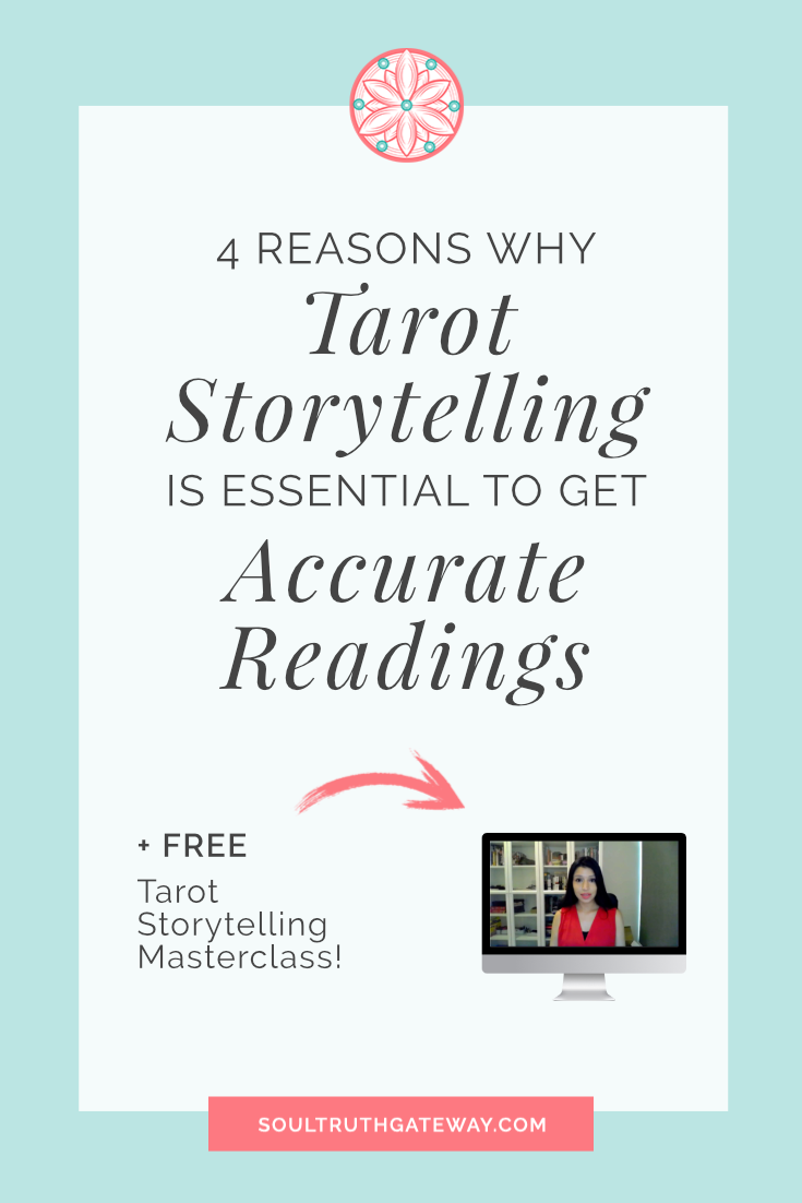 4 Reasons Why You Need to Learn the Art of Tarot Storytelling