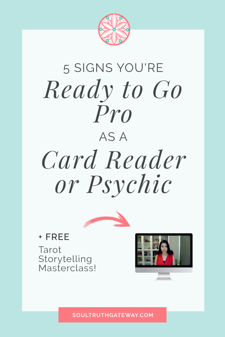 5 Signs You're Ready to Go Pro as a Card Reader or Psychic