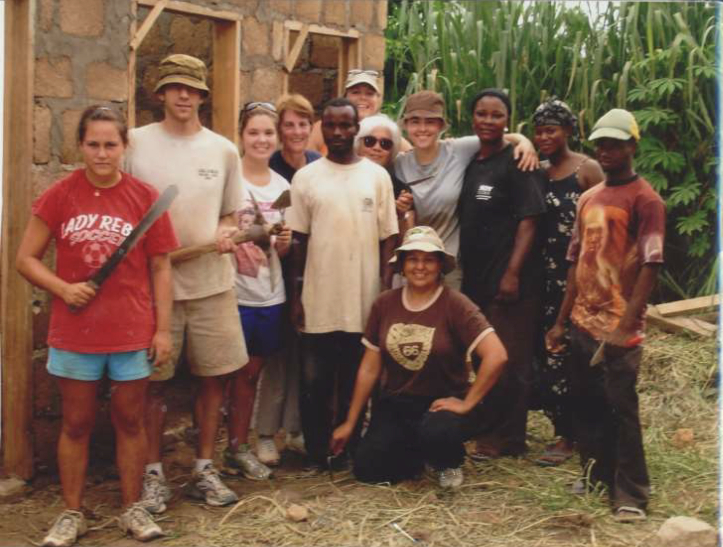 2006 - L to R: Aly Howisey, Paul Graddon, Ashley Zerangue Freni, Jan Kline**, Jen Mullis, Teddi Alejandrino, Karla GergenBottom: Teri Cella