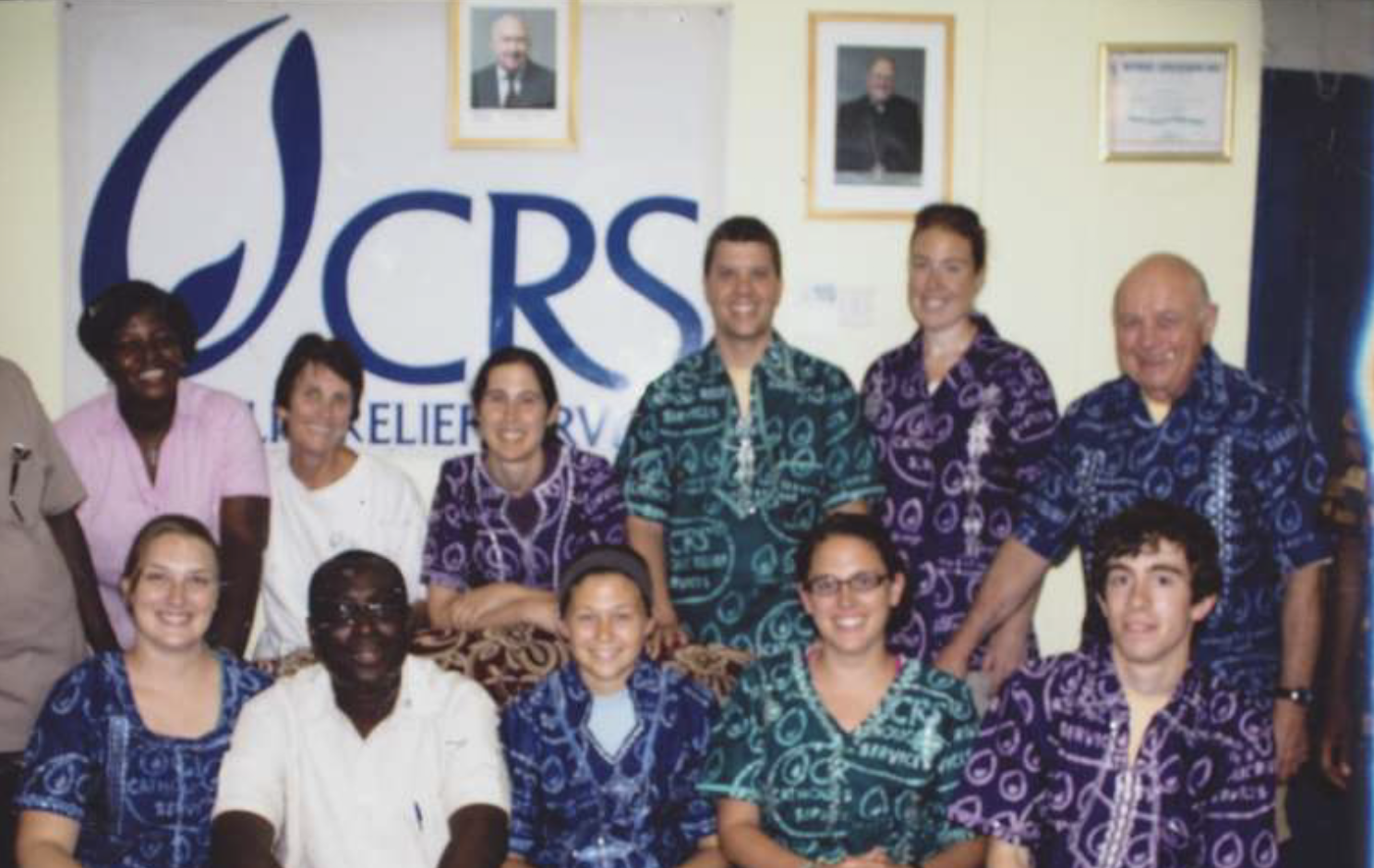 2010 - Back Row: Jan Kline**, Jen Valdez, Bob Maher**, Jen Reubish Danielson, Dave MeyersBottom Row: Courtney Plummer – Intern, Dr Philip Darko, PhD, Blair Howisey, Hallie Hemmingsen-Pratt, Chris Dube*- RIP