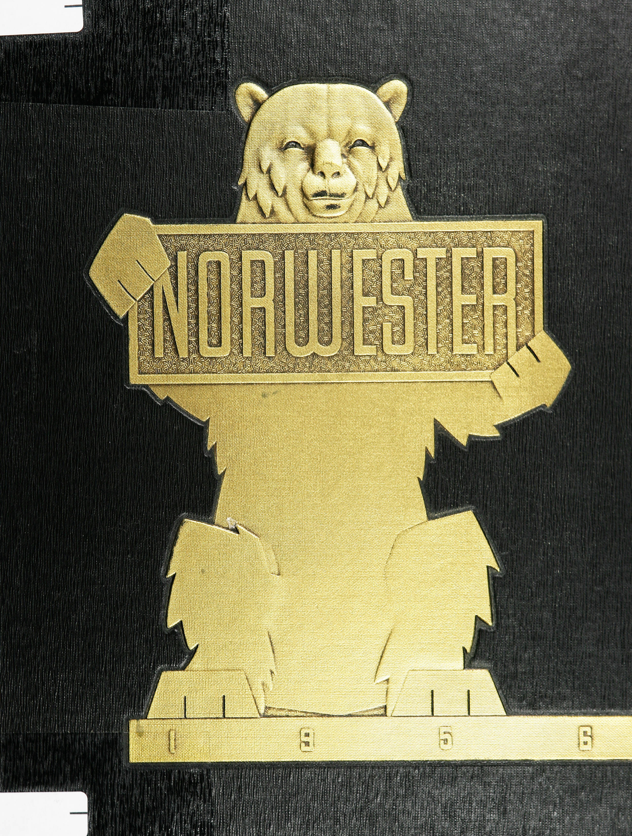 The cover of the 1956 Norwester yearbook. The complete contents are available online. (Courtesy of the UA Archives.)