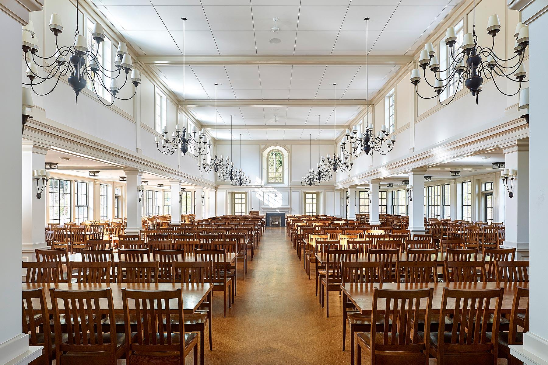 Millbrook School Dining Addition Voith & Mactavish Architects Millbrook, NY