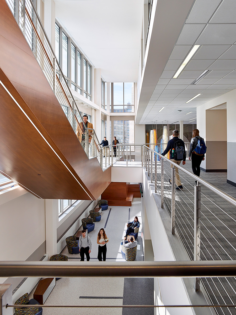 West Chester University Business and Public Affairs  Voith & Mactavish Architects West Chester, PA
