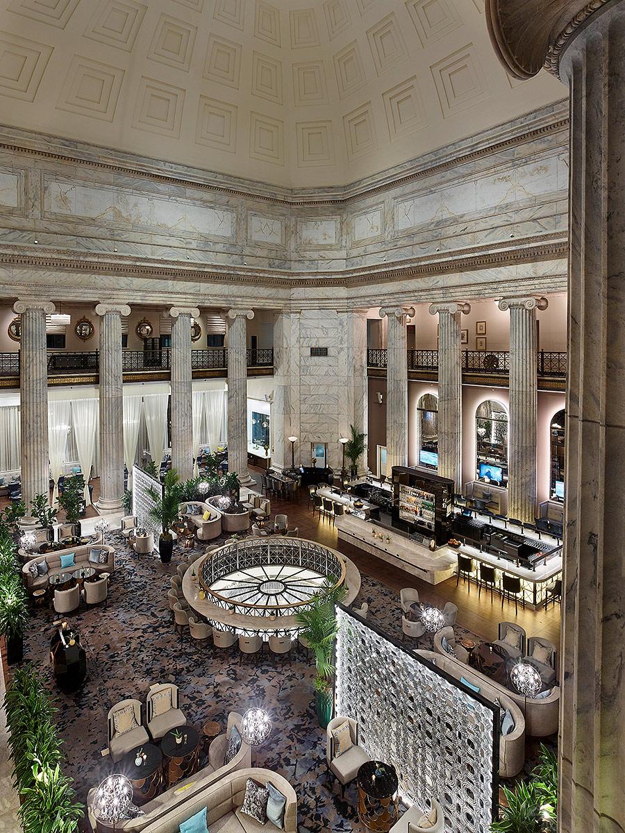 Ritz Carlton Coscia Moos Architects MJ Settelen Construction Philadelphia, PA