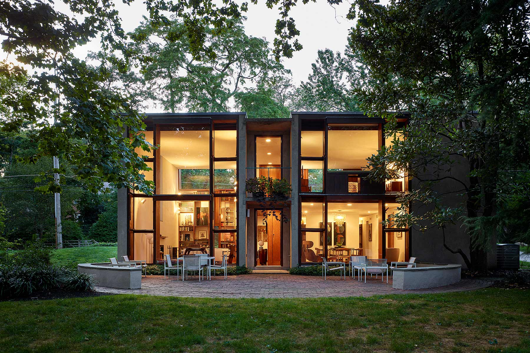 Margaret Esherick House k YODER design Philadelphia, PA