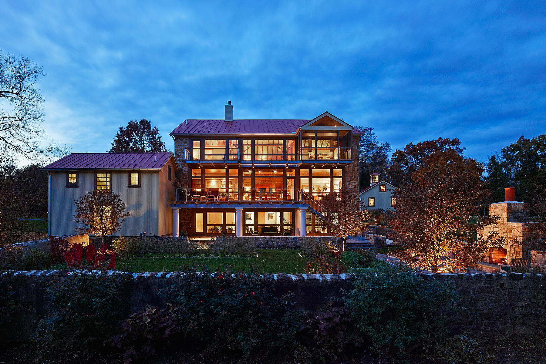 Private Residence Voith & Mactavish Architects Blue Bell, PA