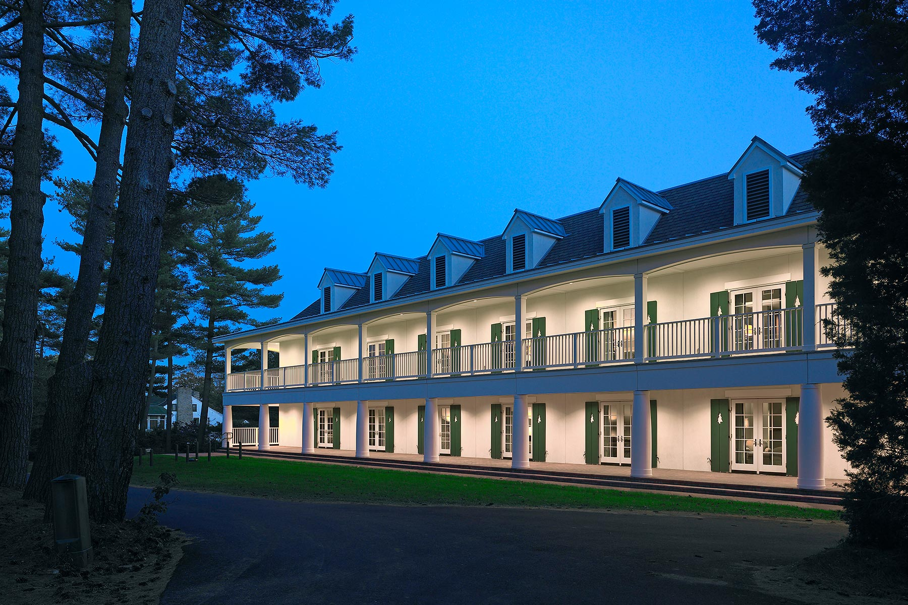 Pine Valley Golf Club Blackney Hayes Architects Pine Valley, NJ