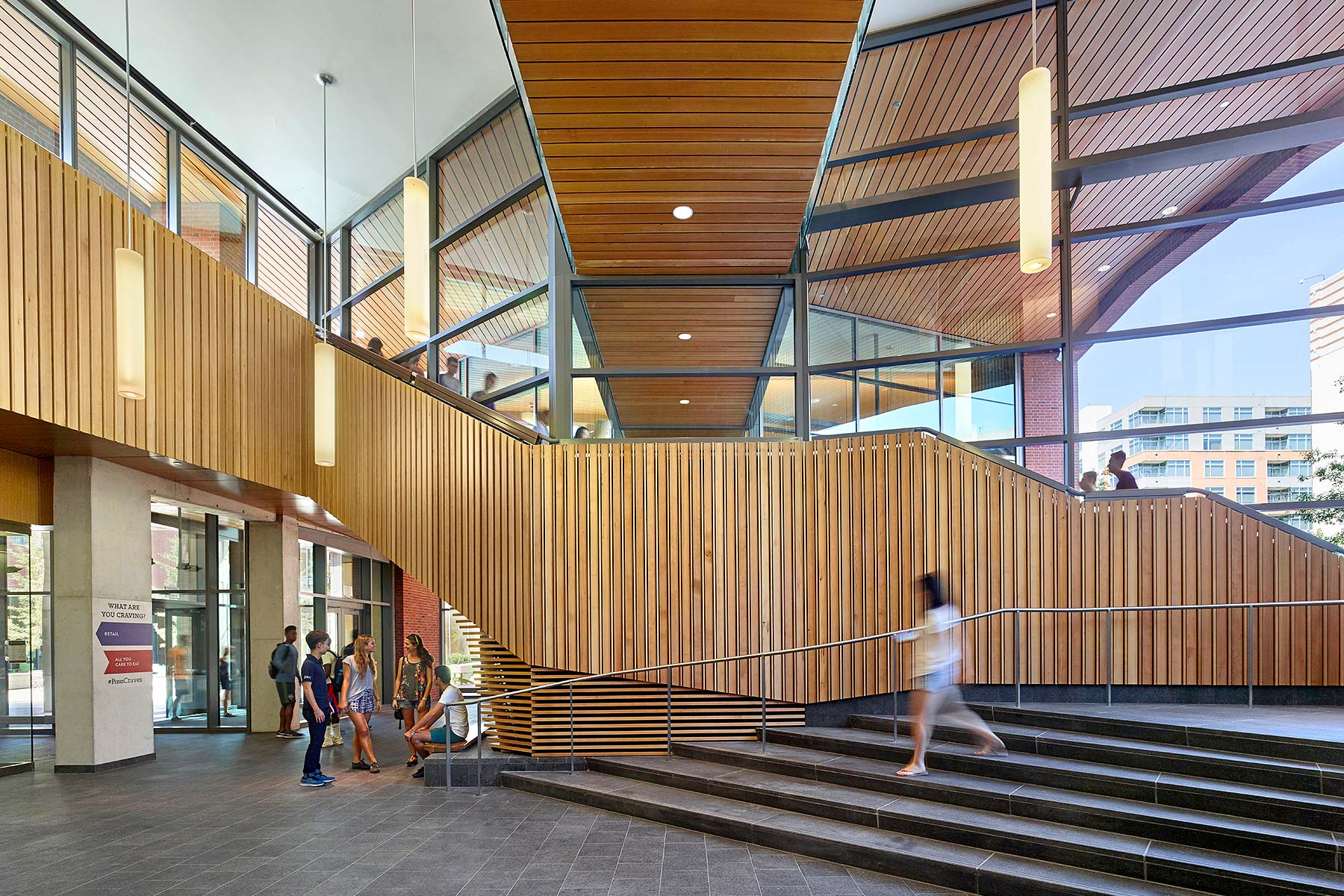 New College House Bohlin Cywinski Jackson See More in  Education