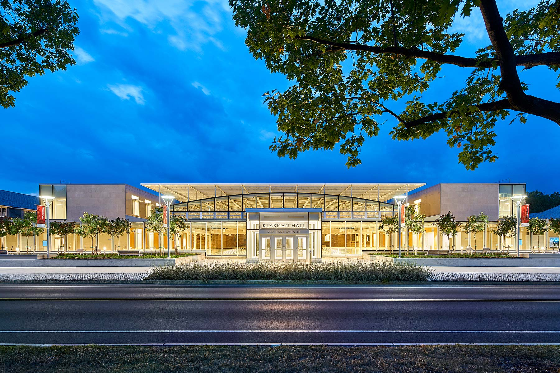 Cornell University Klarman Hall Stantec & NK Architects See More in  Education