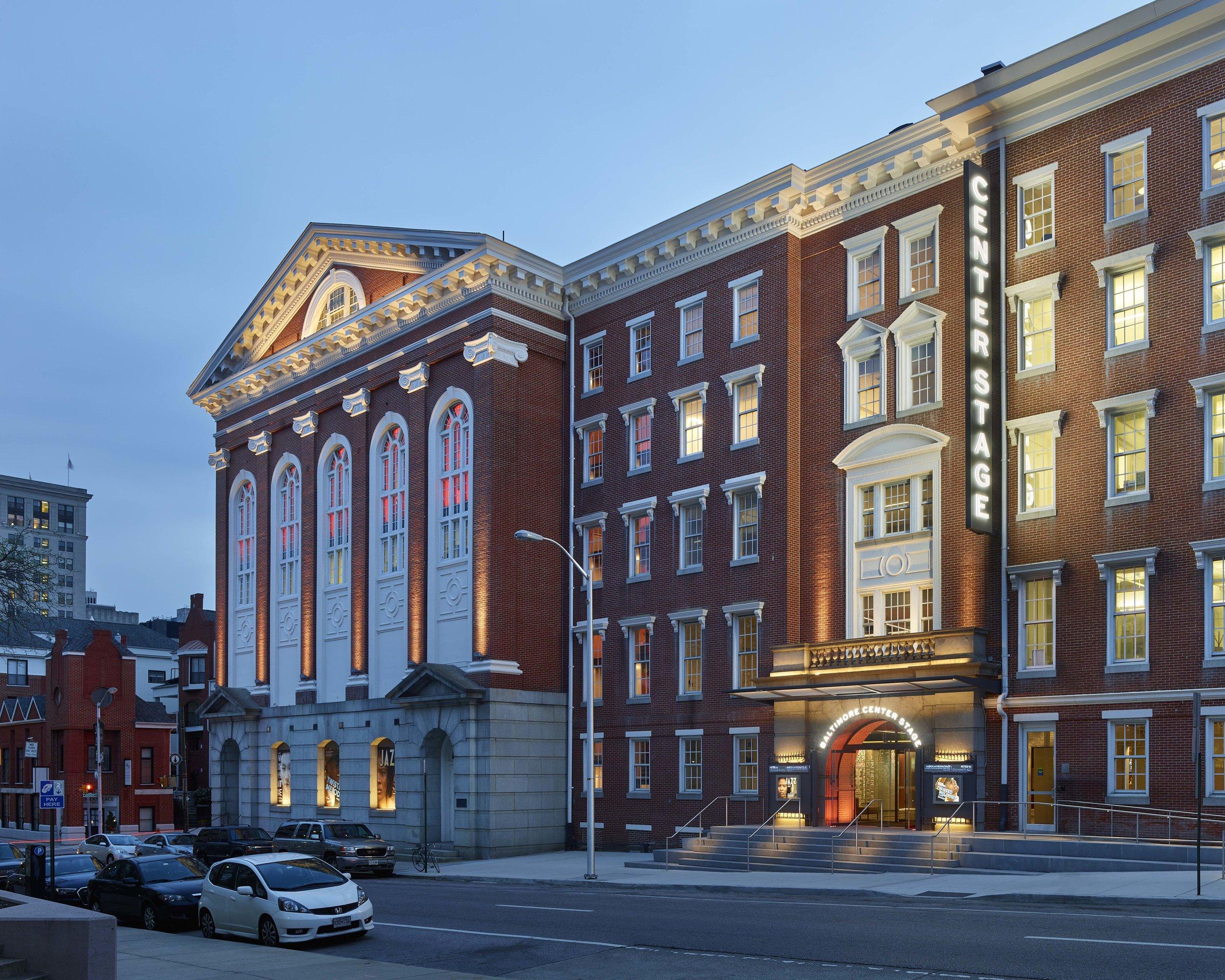Baltimore Center Stage  Pentagram - Abbott Miller Baltimore, MD