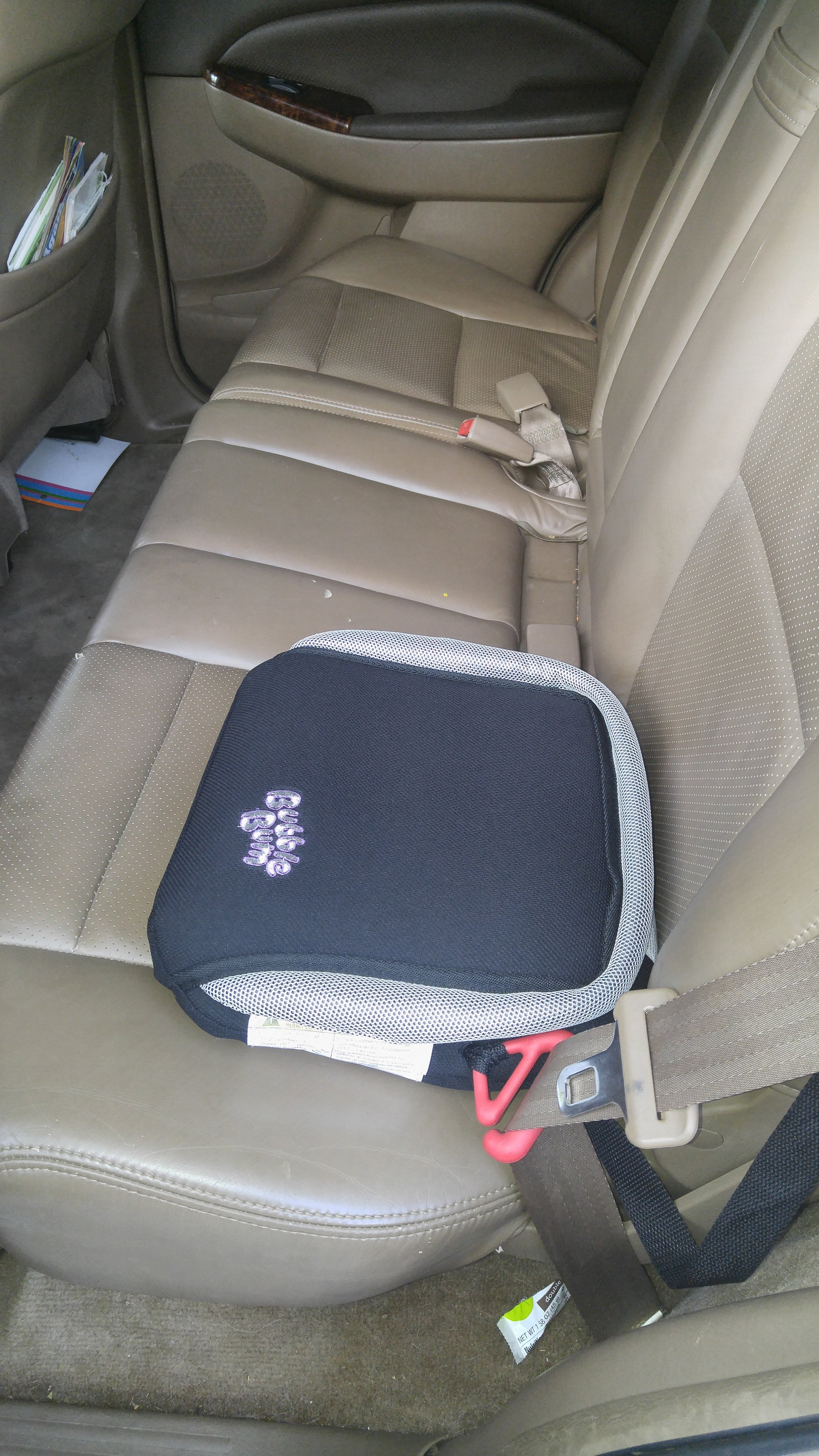 The Bubblebum in my car. Works great and the kids love it.