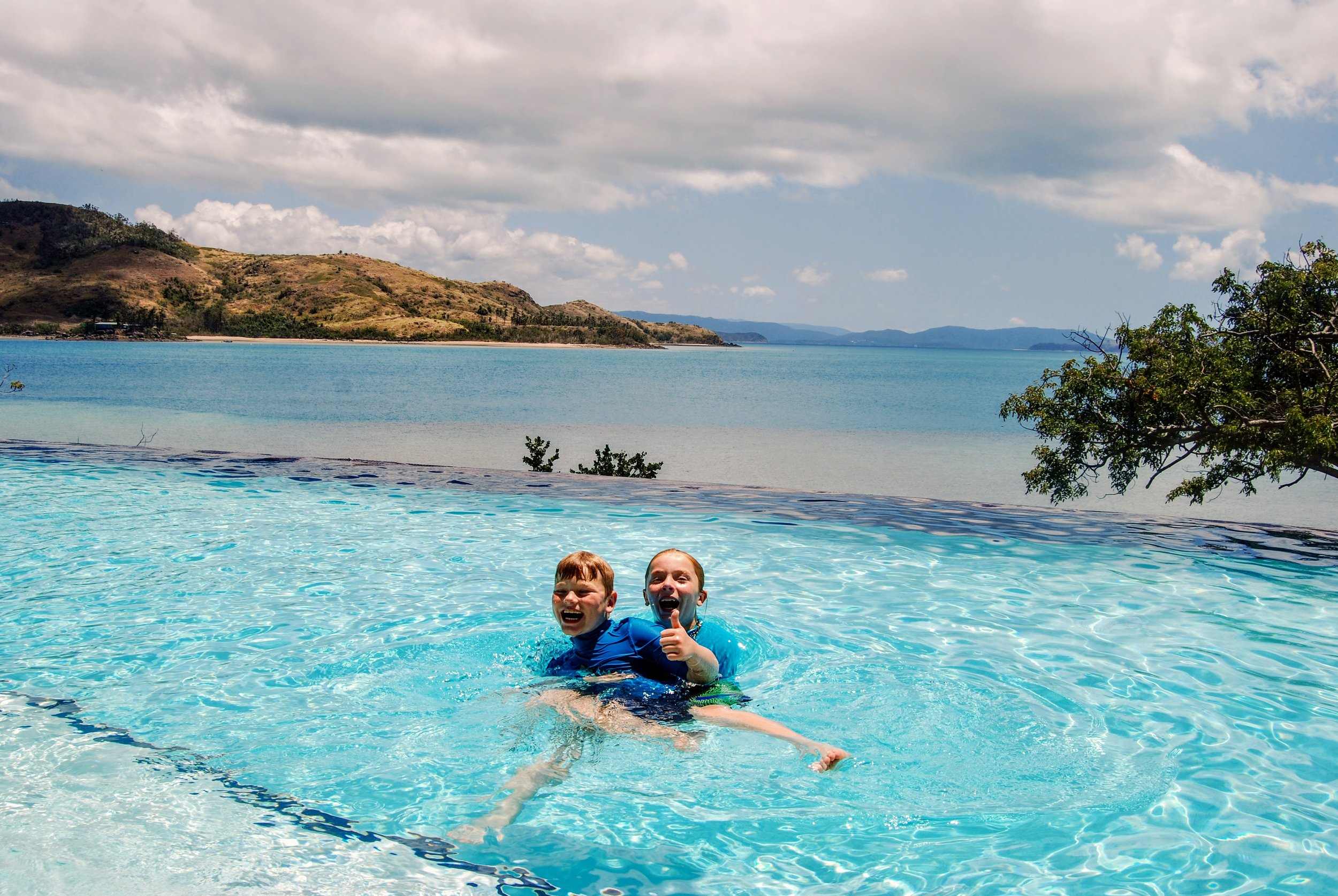 But they also appproved of the infinity pool at Shorelines.