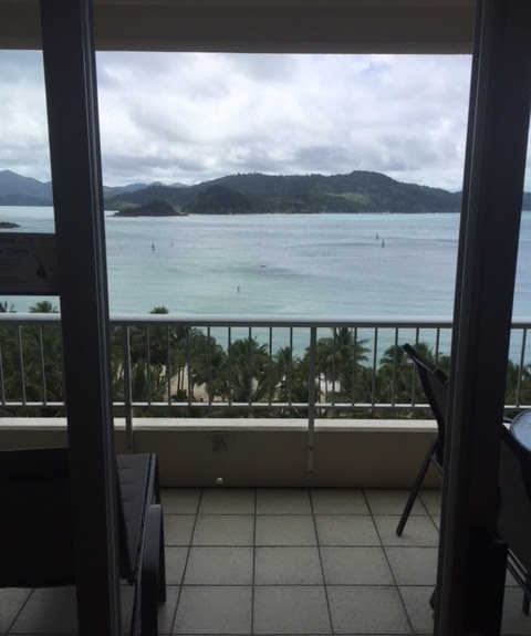 View from our Whitsunday Apartment