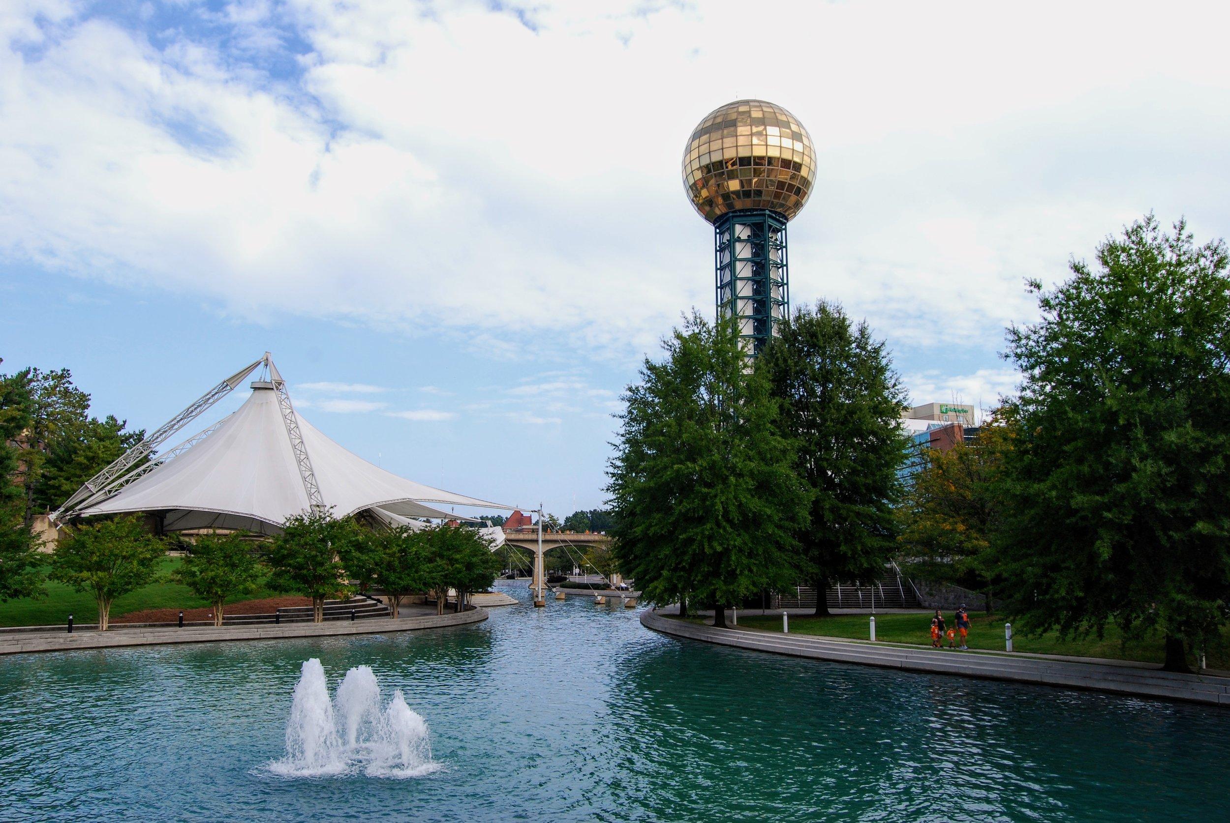 Sunsphere and the World's Fair Park