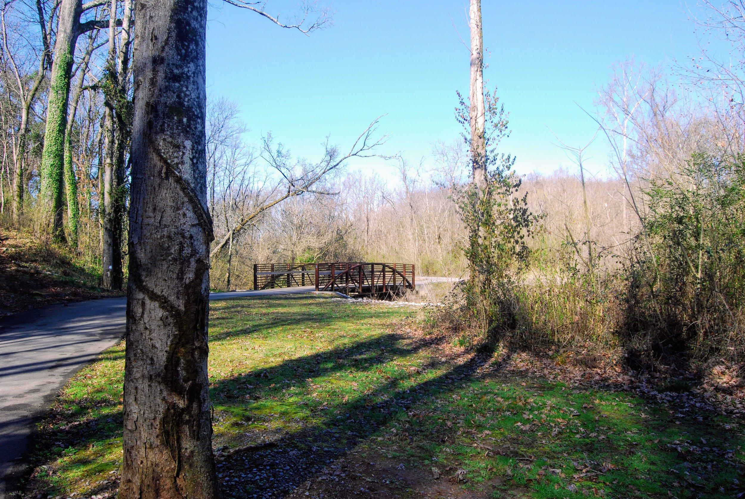 Another bridge over 3rd Creek
