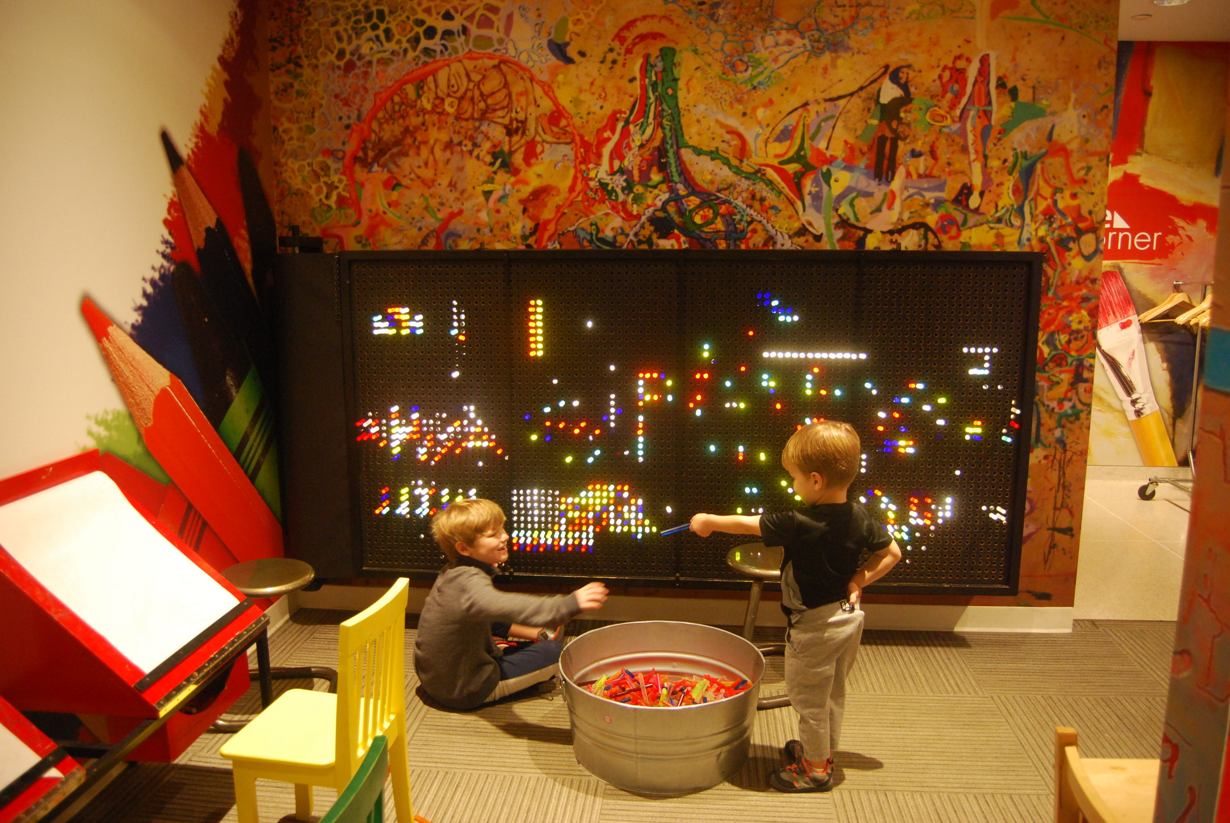 Kid's room at the Museum of Art