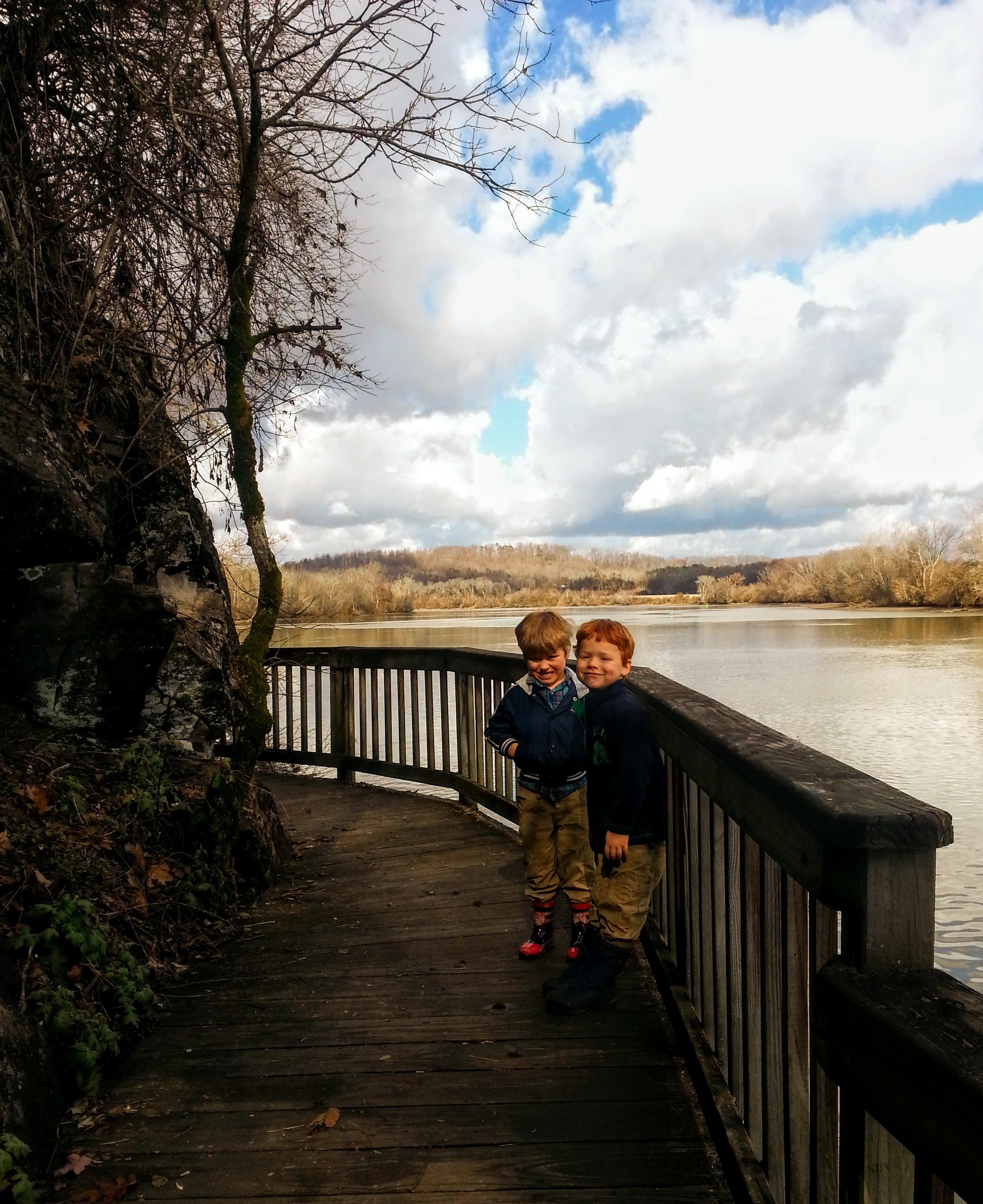 Boardwalk on the River Trail