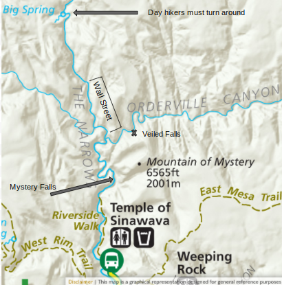 Map  courtesy of the National Park Service with my own additions