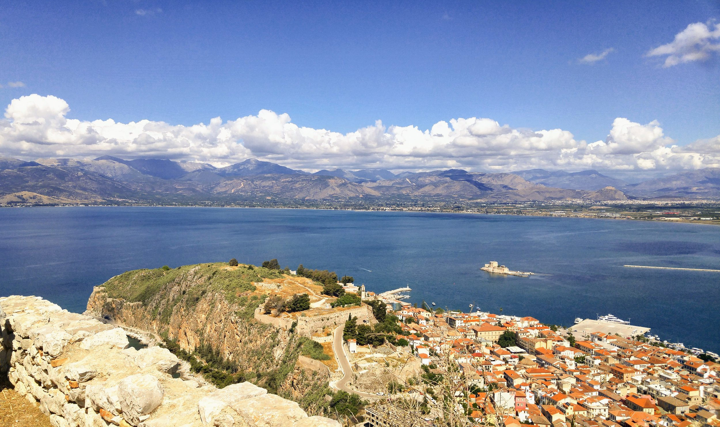 View from Palamidi Fortress