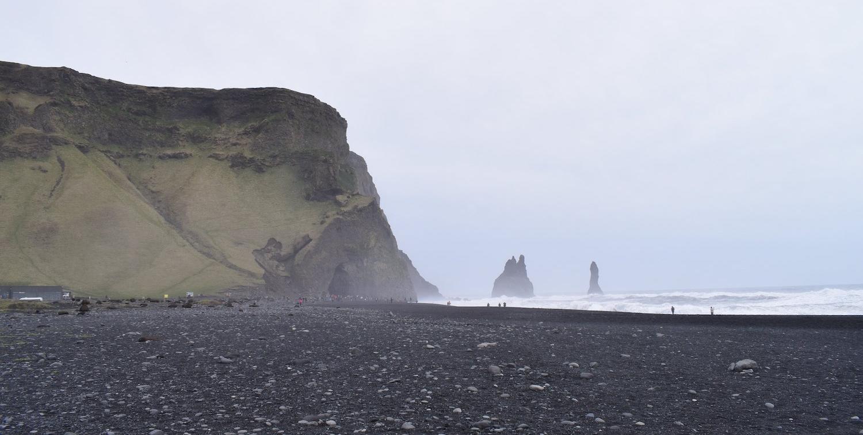 Reynisfjara's black sand