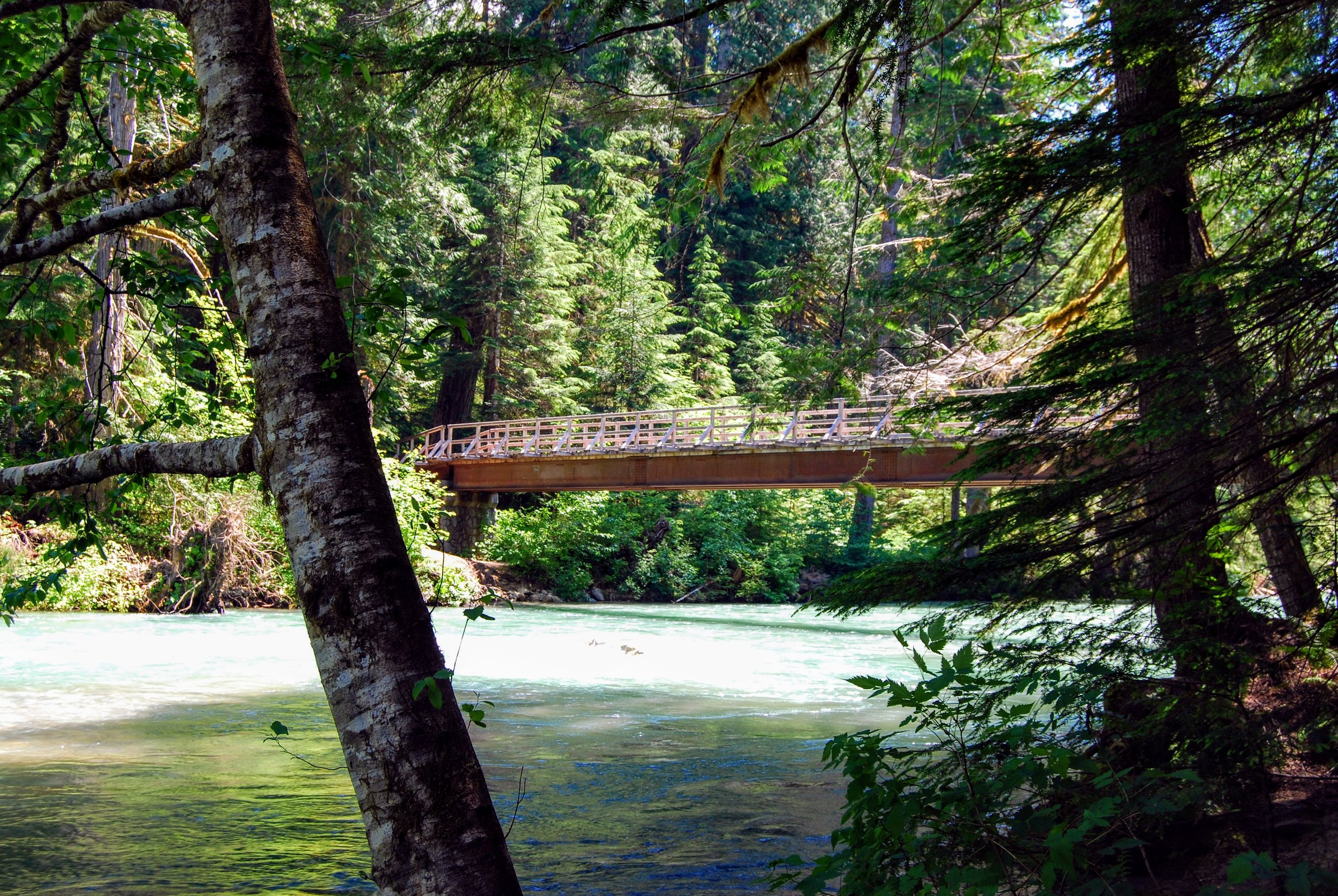 Bridge at about the 2 mile mark