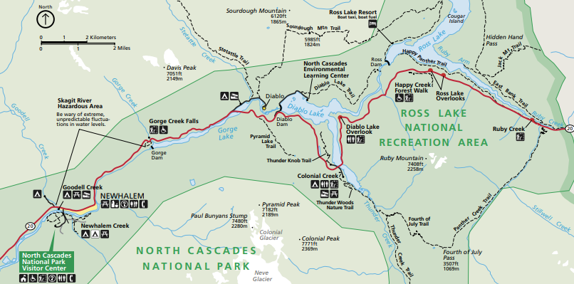 Map courtesy of NPS