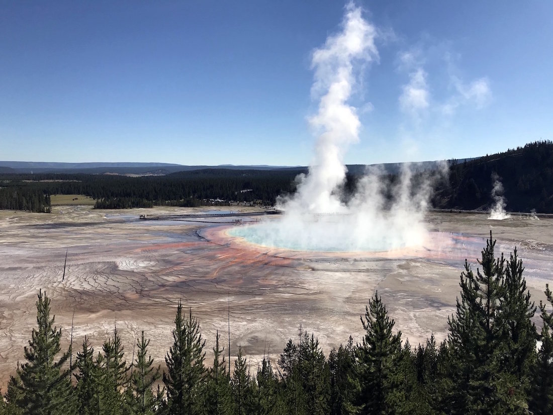 Grand Prismatic Overlook