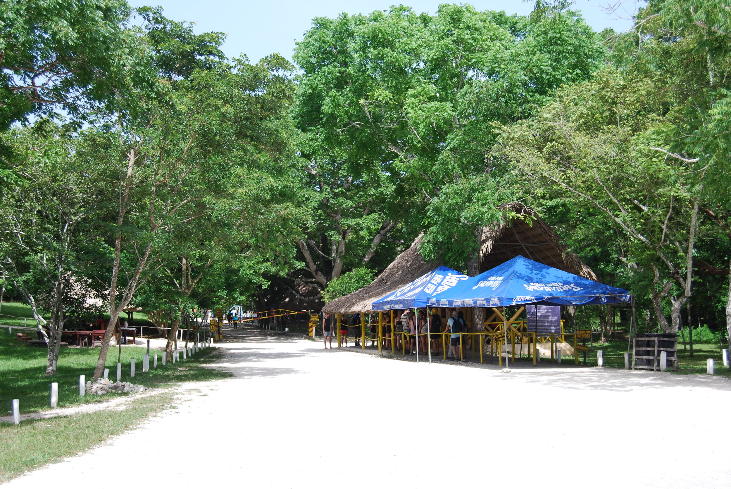 Kiosks adjacent to the ticket gate in Tikal will sell water for a better price than you might expect considering the location.