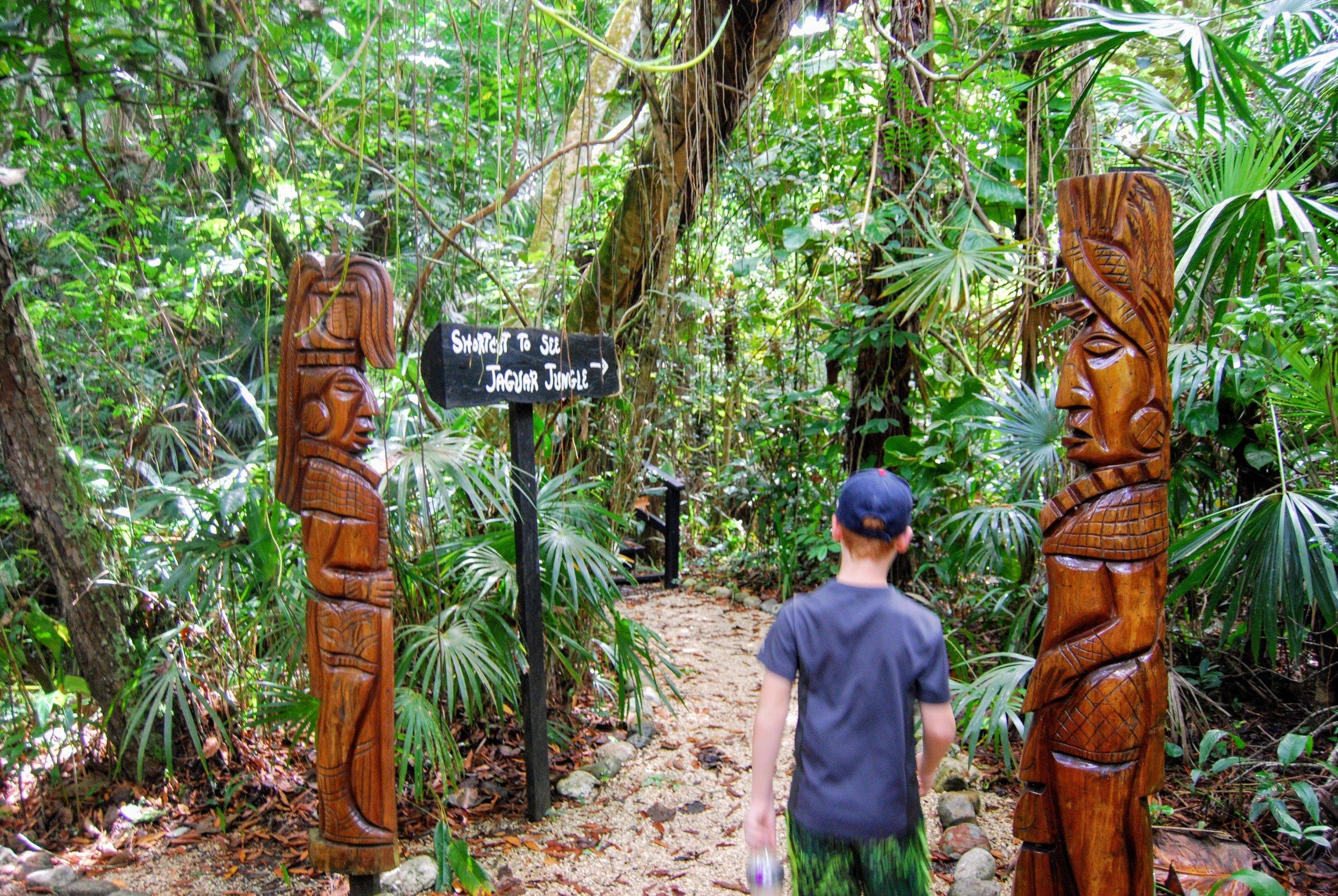 Entrance to Jaguar Jungle
