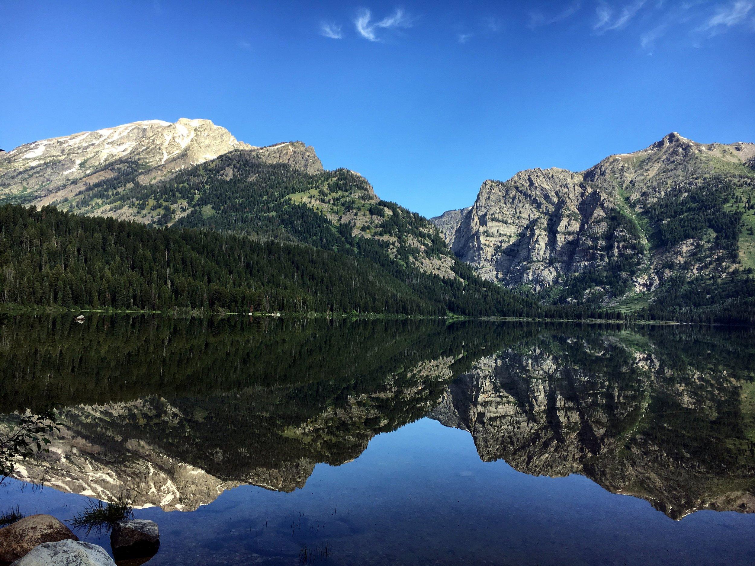 Morning photo of Phelps Lake
