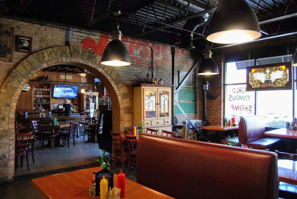 Interior of the Whistle Stop Cafe.