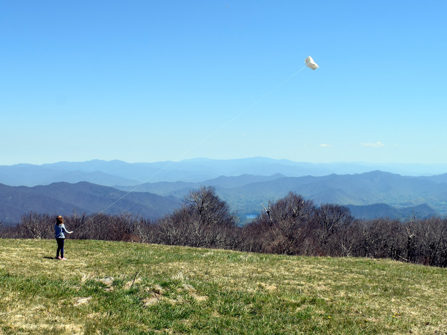 One of the best views on the Cherohala Skyway