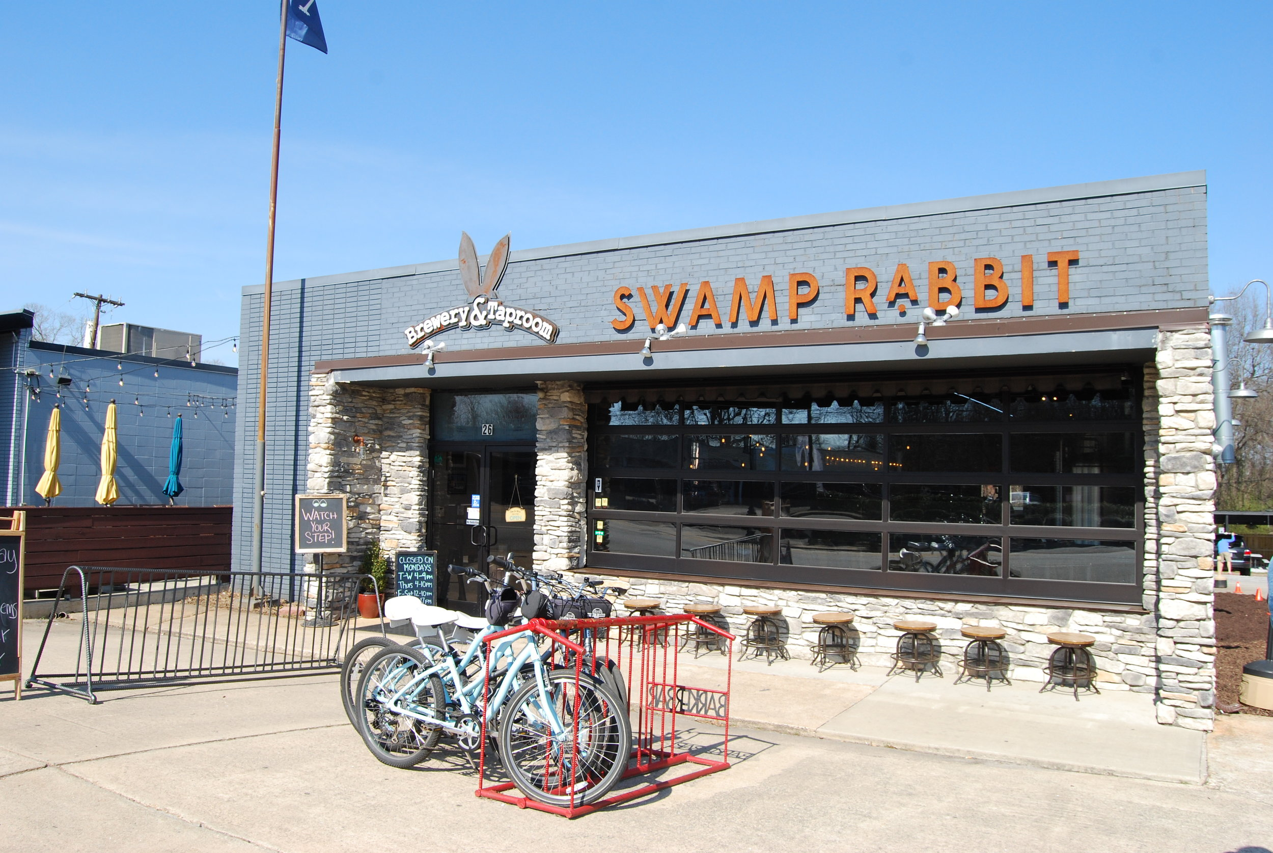 Swamp Rabbit Brewery in Travelers Rest