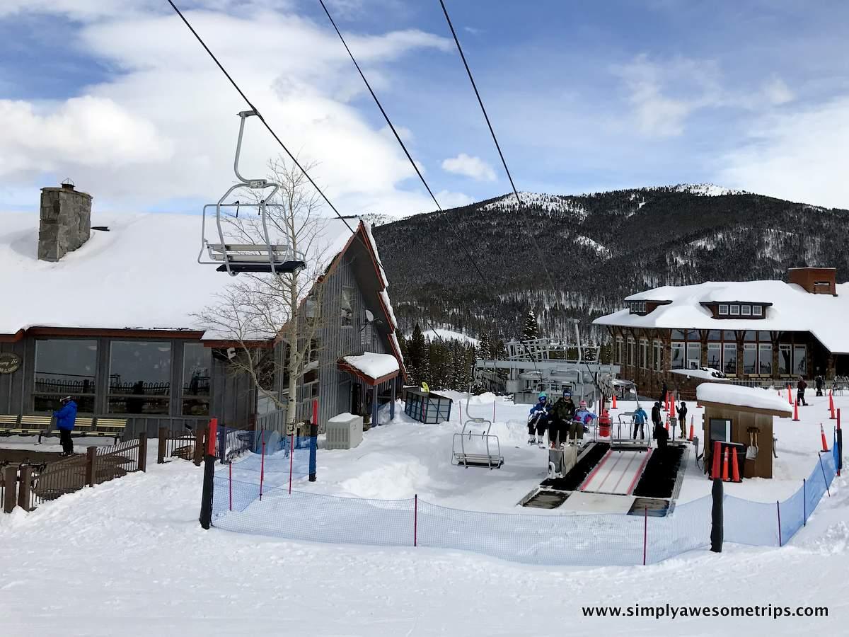 Ski Rentals are located in Jim Bridger Lodge next to Virginia City lift