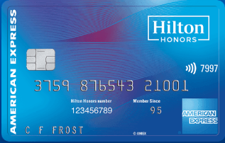 Notice the wireless symbol by the numbers 7997. This card can be used for contactless payment. Image courtesy of  American Express .