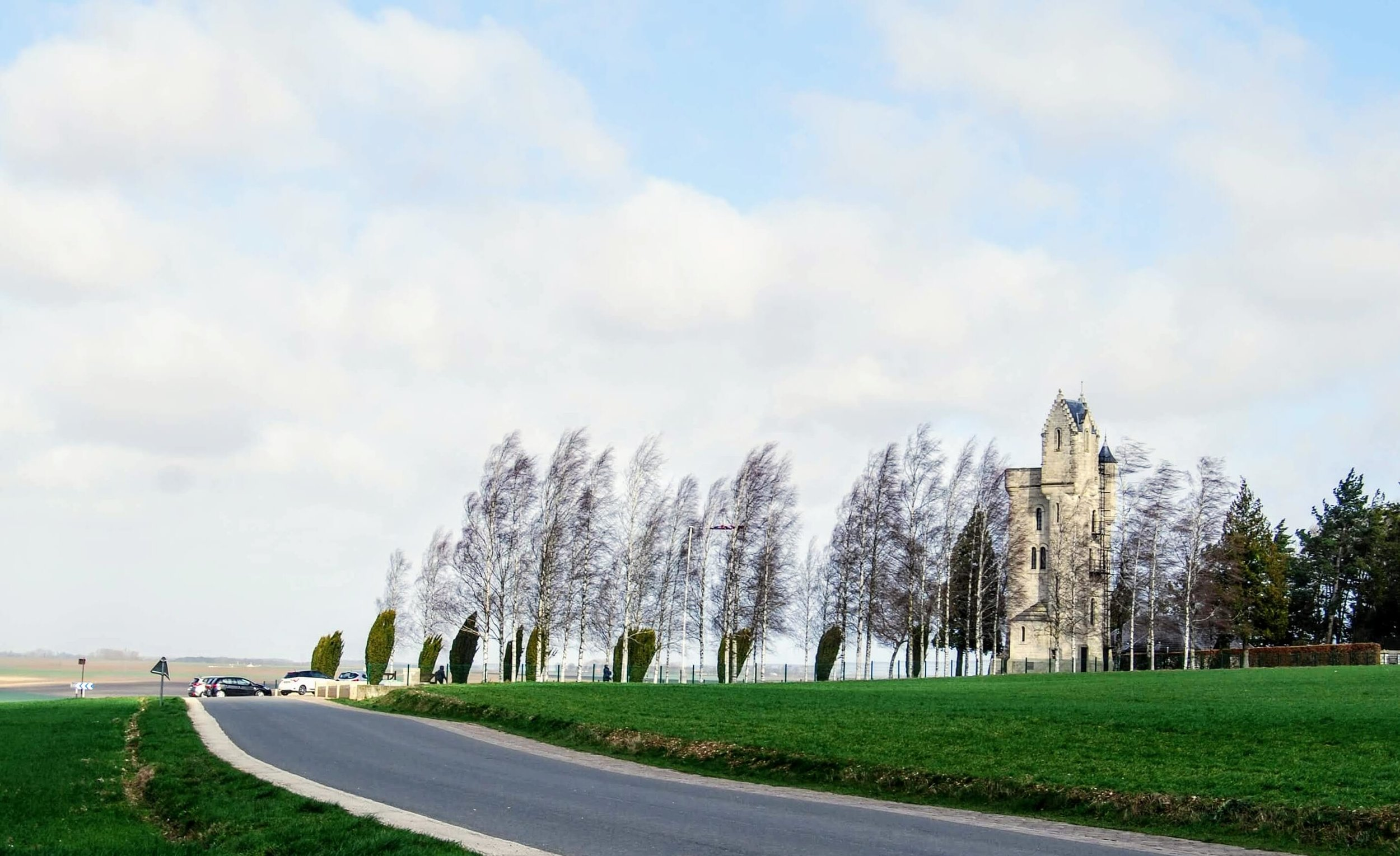 Ulster Tower from the road