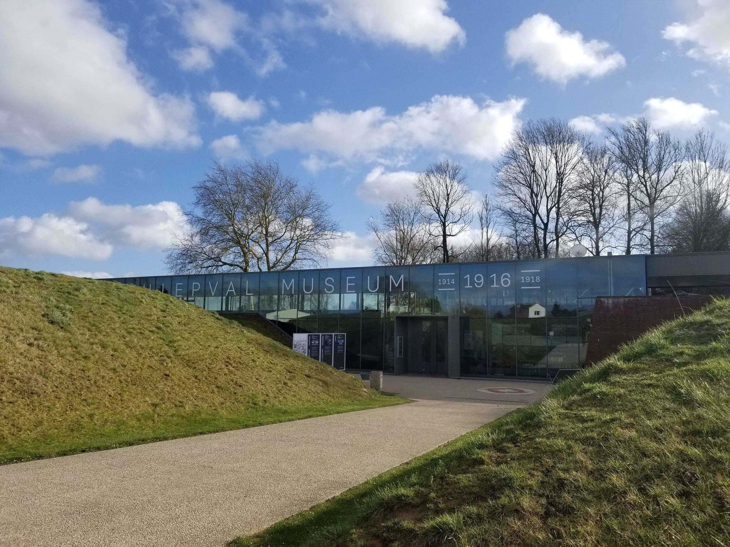 Museum at Thiepval Memorial