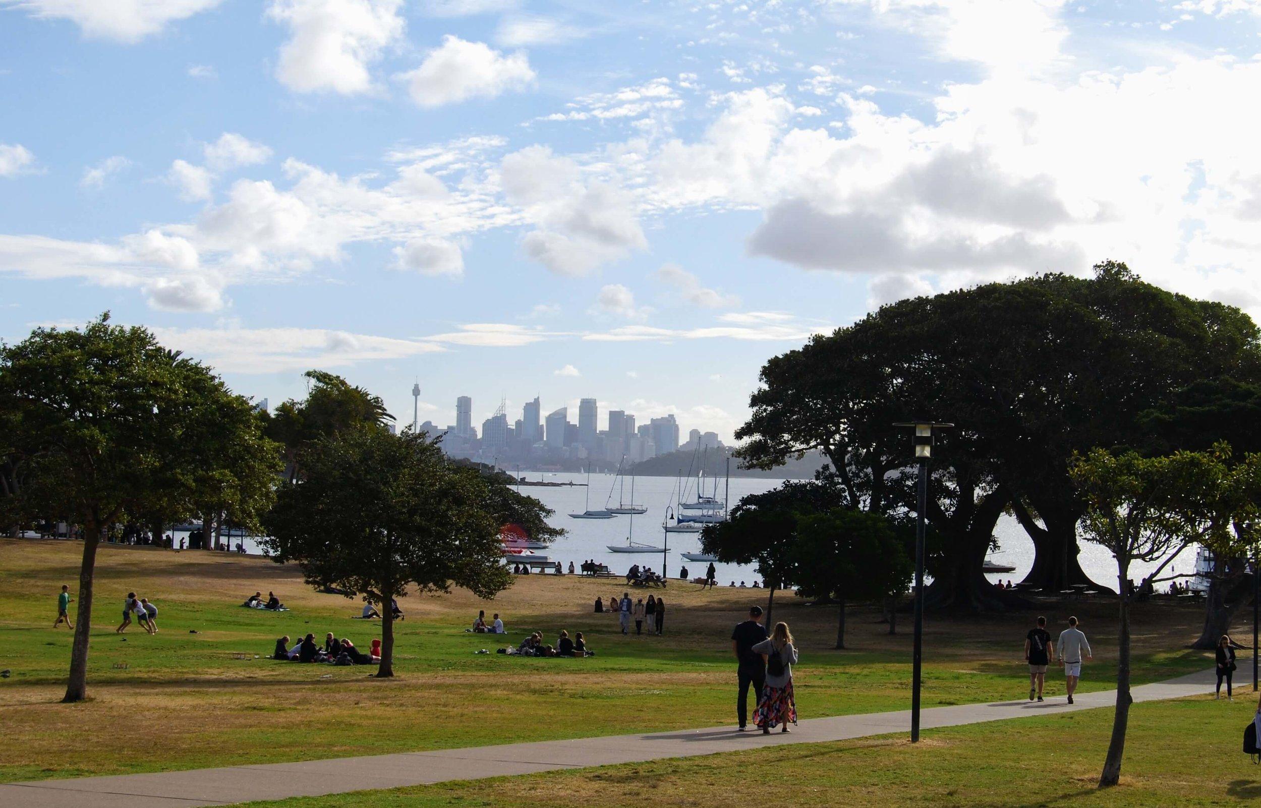 Robertson Park, Watsons Bay