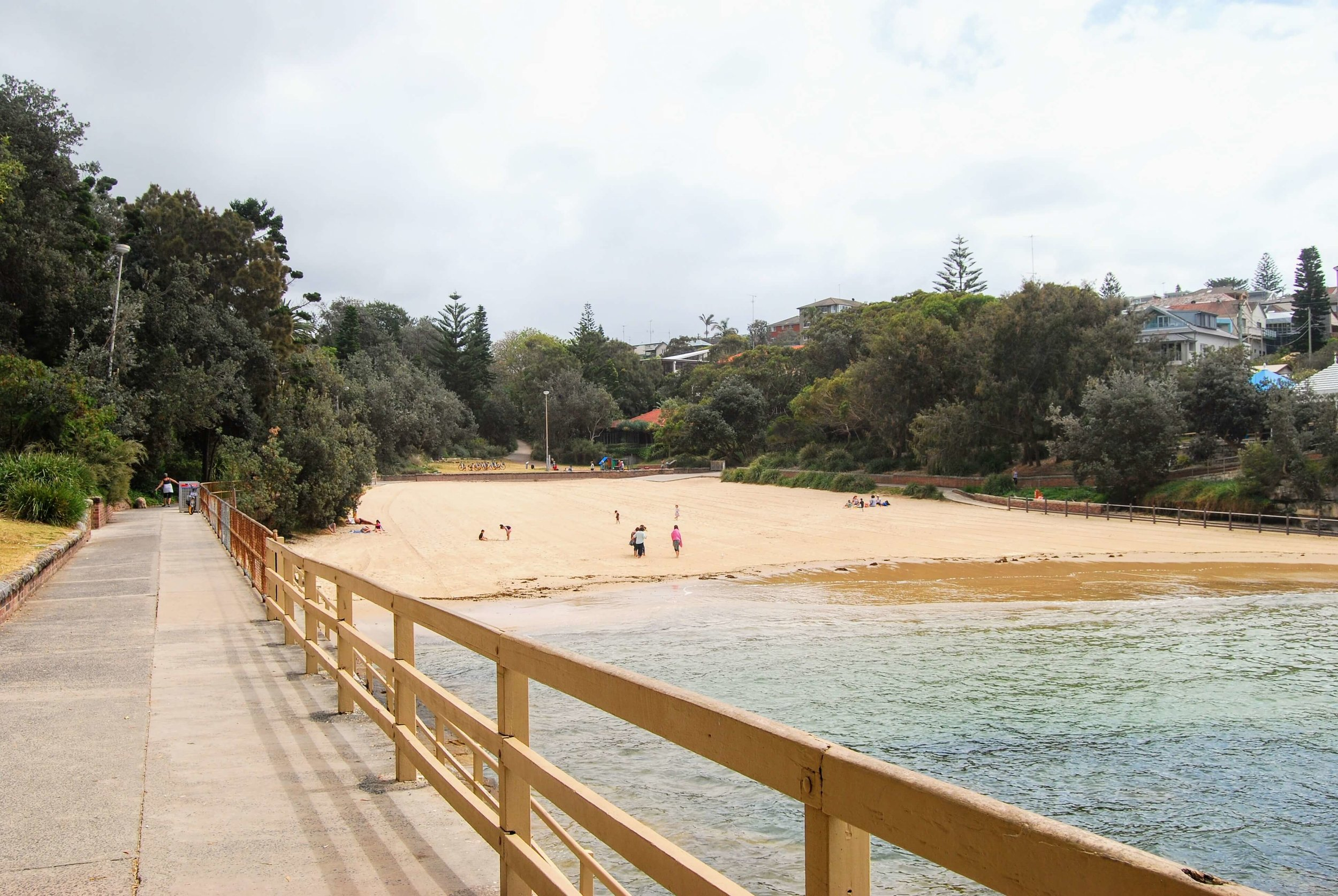 Entering Clovelly Beach