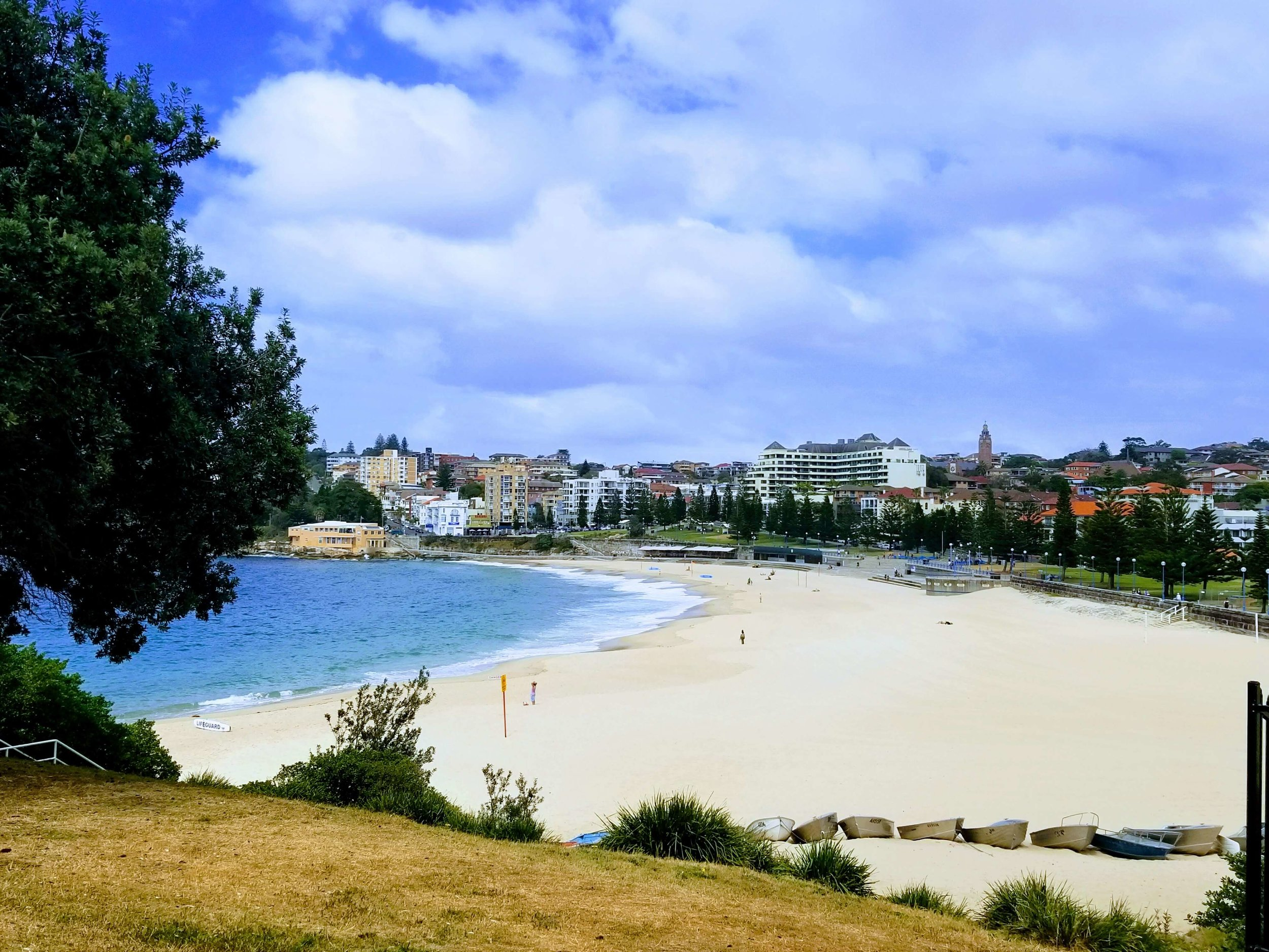 Coogee is a large, pretty, family-friendly beach. It tends to be a little less crowded than Bondi too.