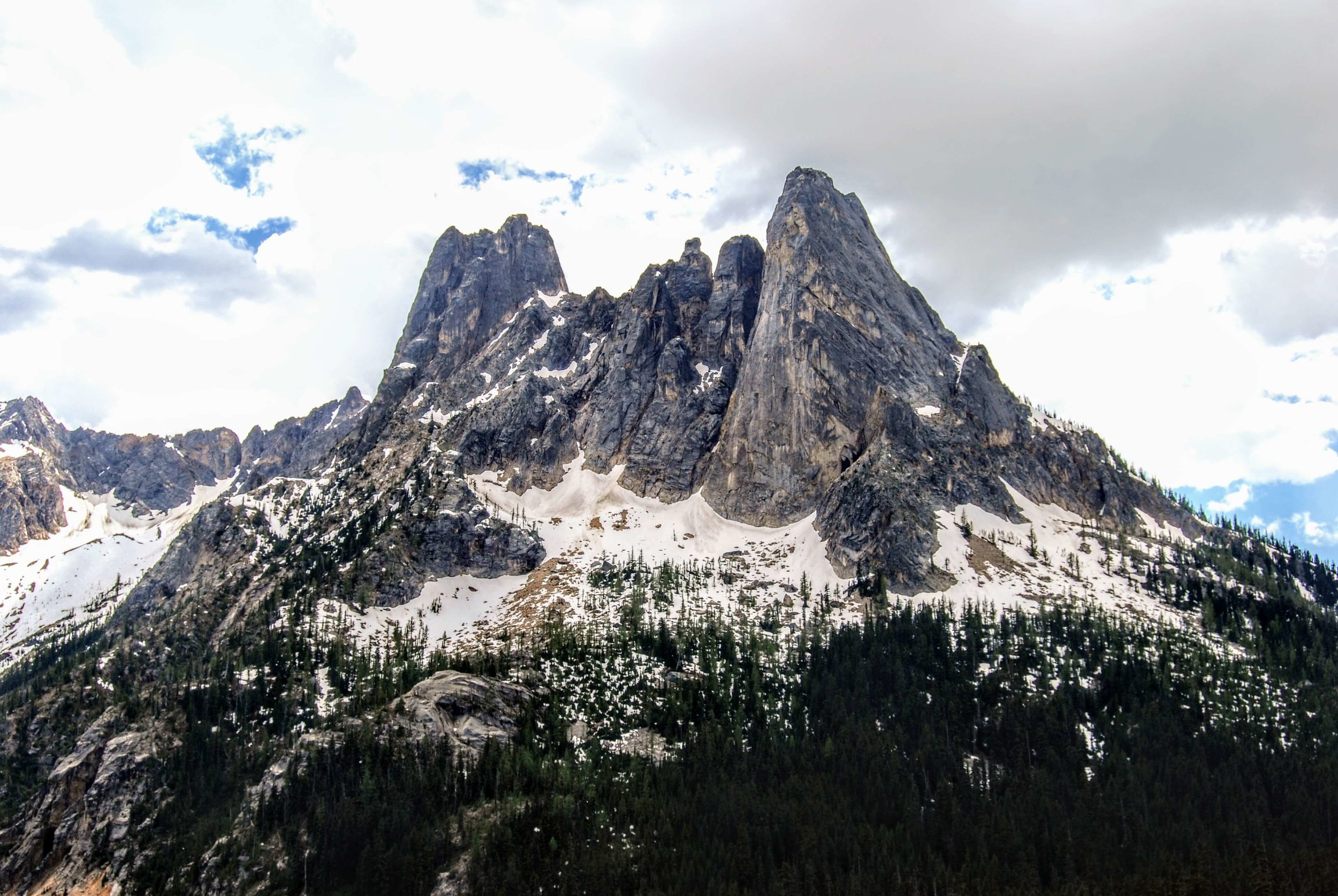 Liberty Bell Mountain, North Cascades National Park