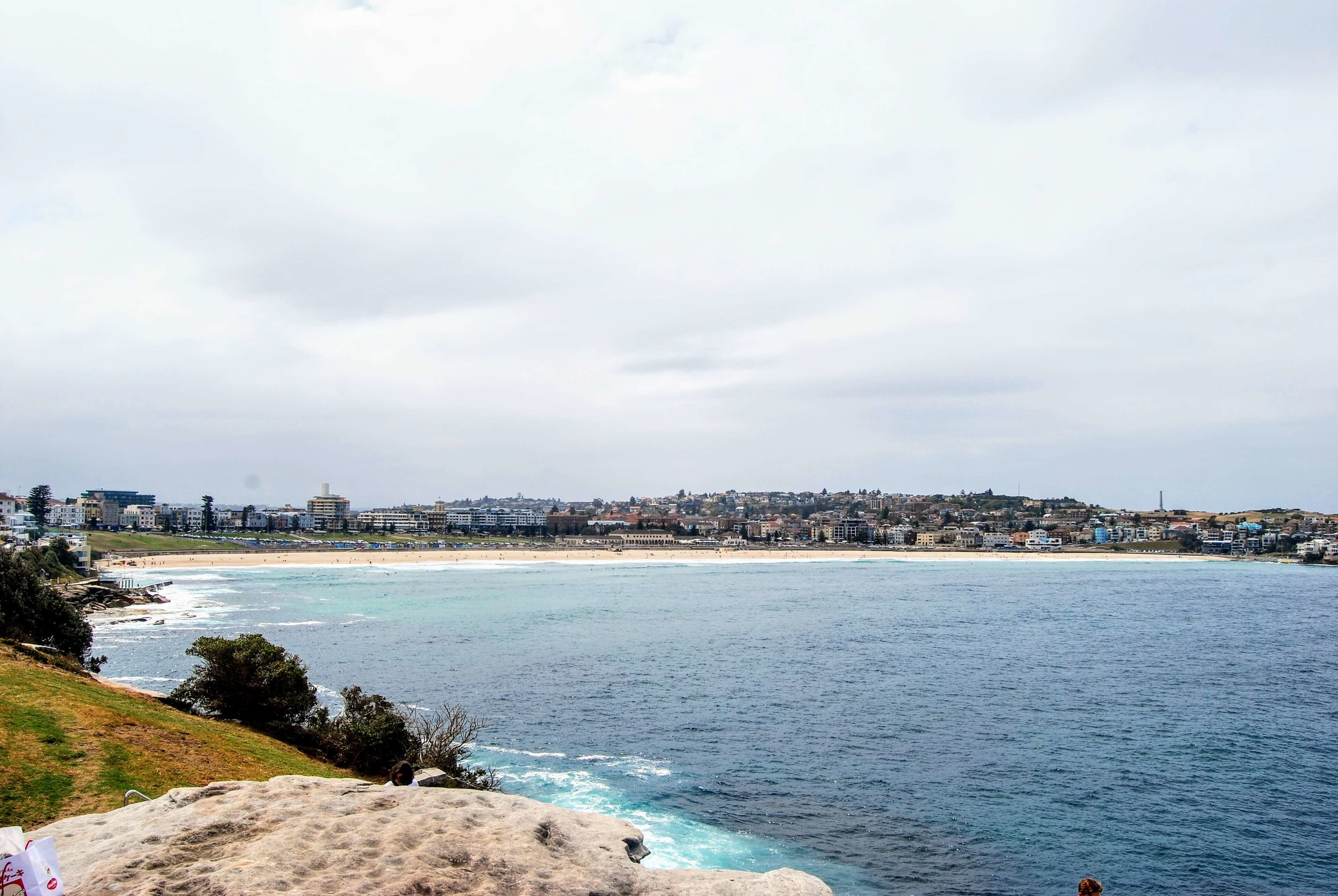 Bondi Beach as seen from Mackenzies Point