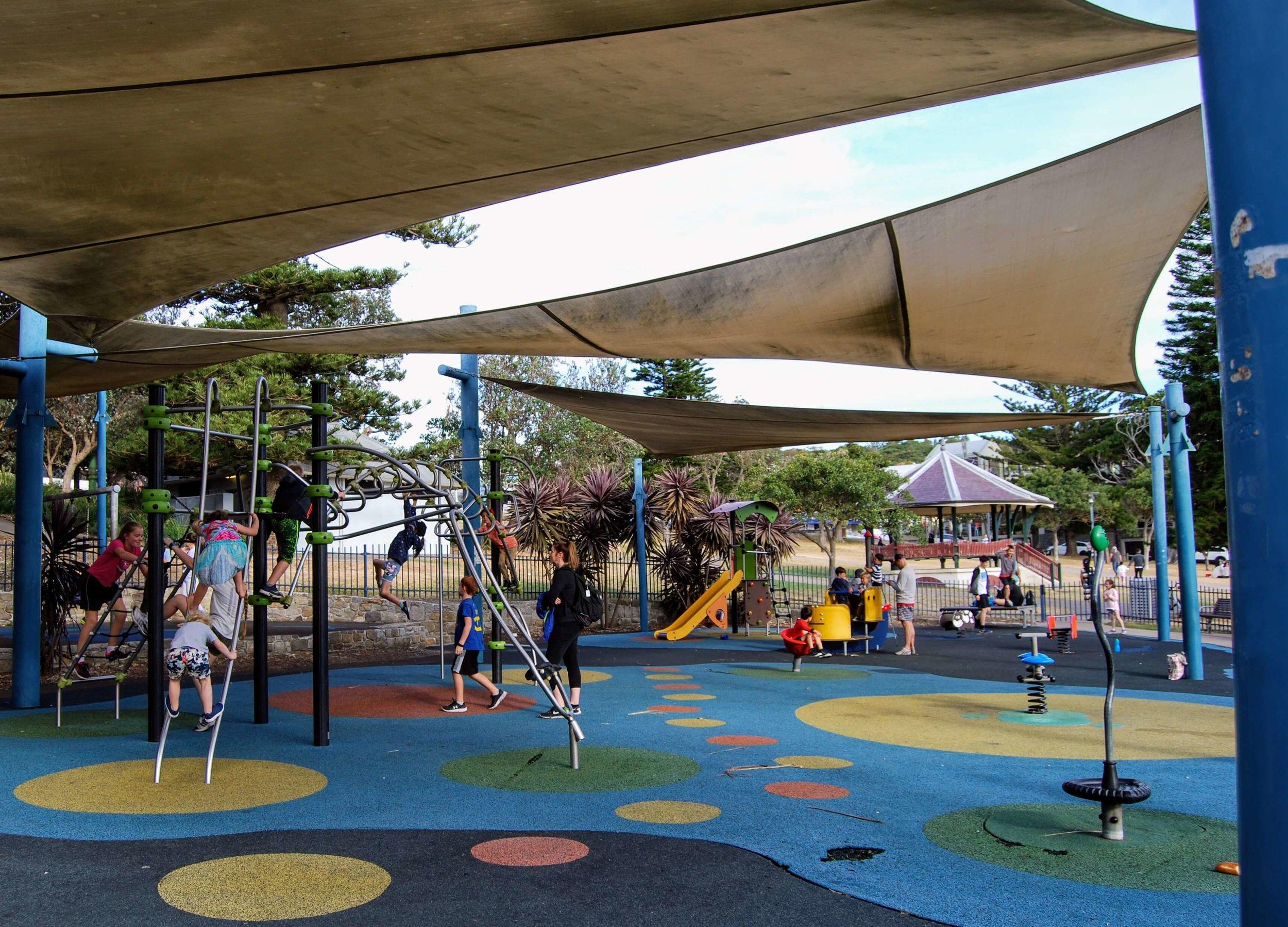 Playground in Robertson Park