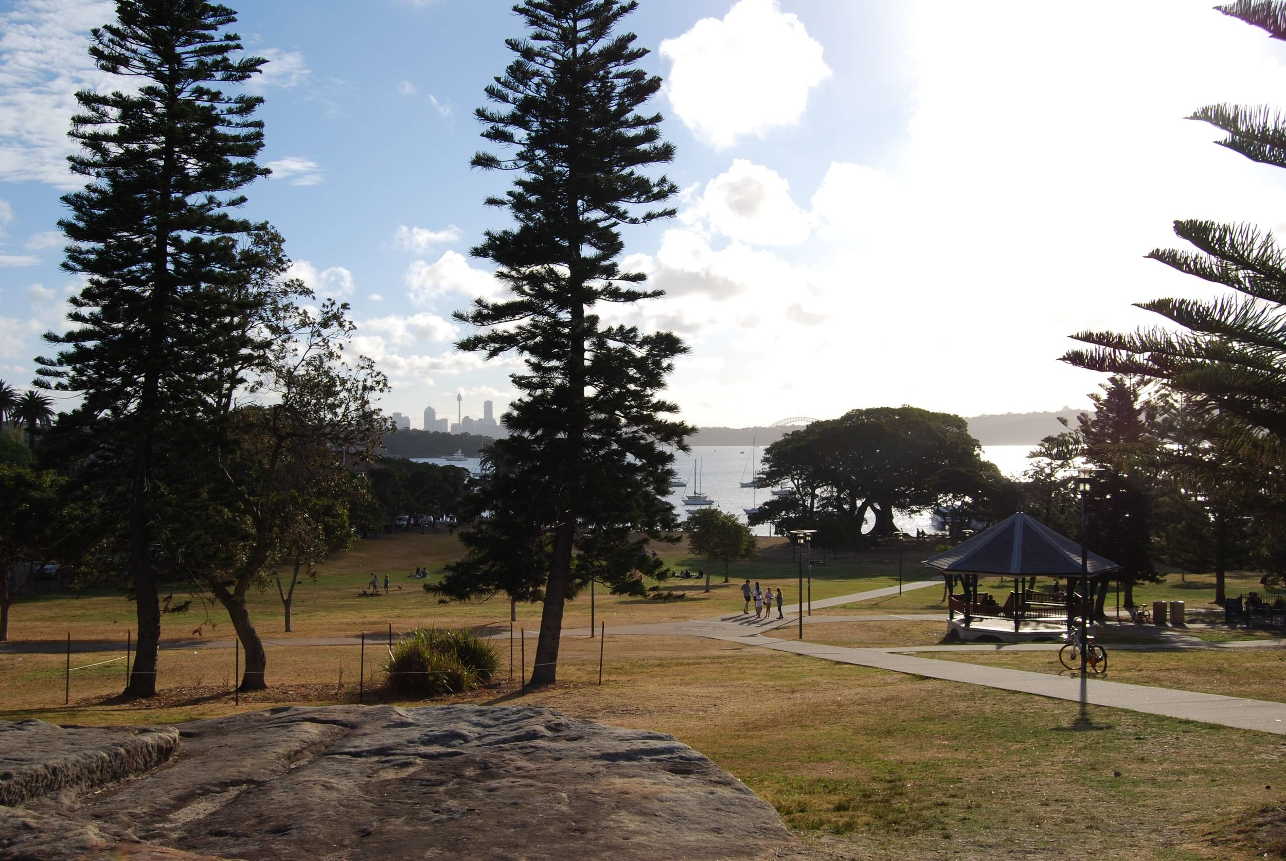 Nice pavilion next to the playground