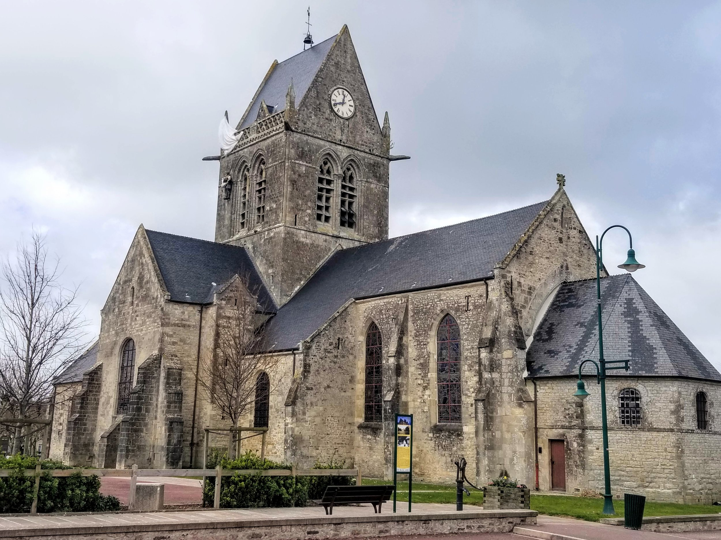 Church in Ste-Mere-Eglise