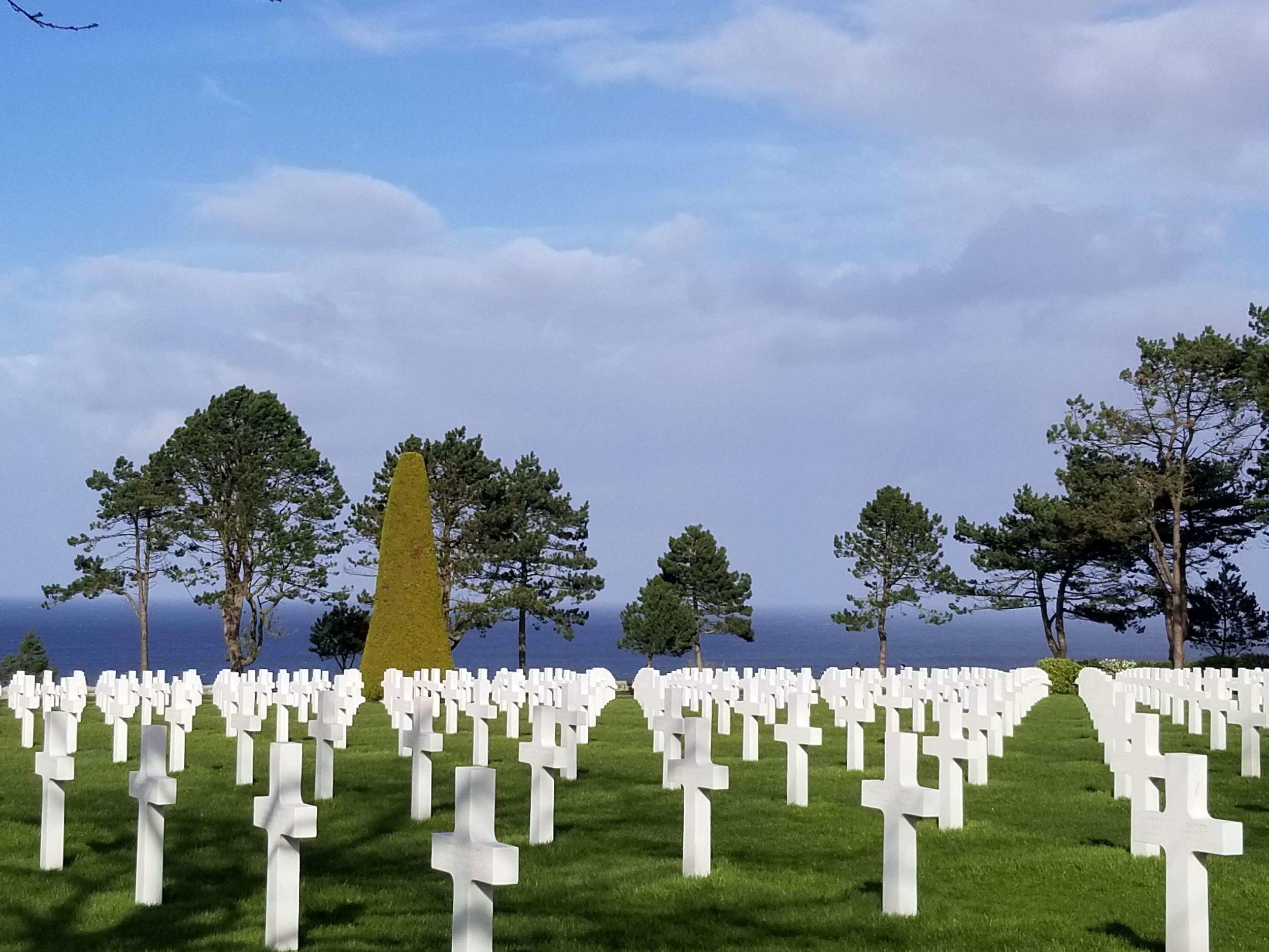 American Cemetery overlooking Utah Beach